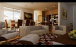 Contemporary-Living-room-warm-earth-tone-open-plan